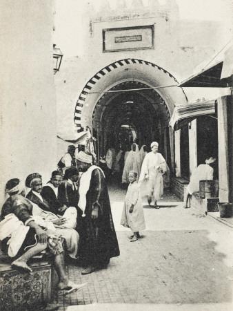 Kairouan - Tunisia - Entrance to the Bazaars
