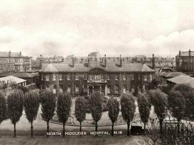 North Middlesex Hospital, Edmonton, Middlesex