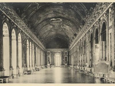 Interior of the Palace of Versailles: Hall of Mirrors