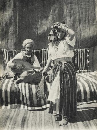 Moorish Dancer in Traditional Costume, Algeria