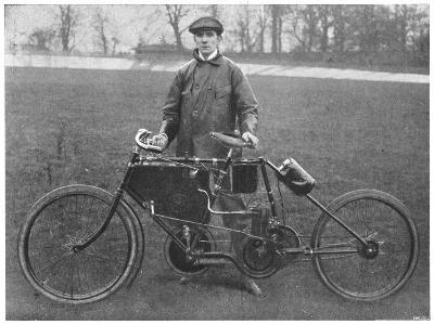 Jarrott: Motor Cycle Race Winner