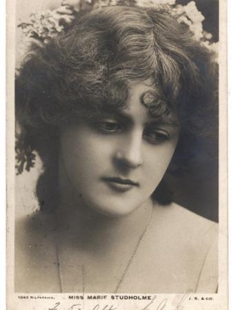 Marie Studholme Actress, in Thoughtful Mood