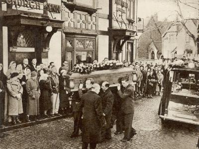 Roger Byrne's Funeral Procession