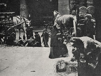 Old Women Scavenging, East End of London