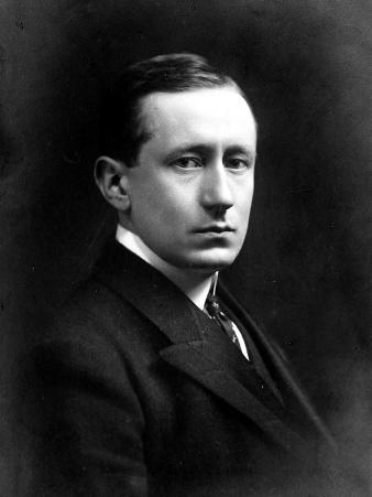 Portrait of Marchese Guglielmo Marconi