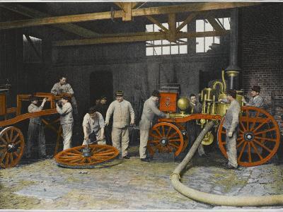 Repairing Fire Engine