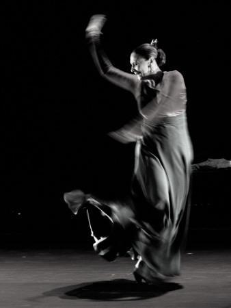 Spanish Flamenco Dancer Merche Esmeralda