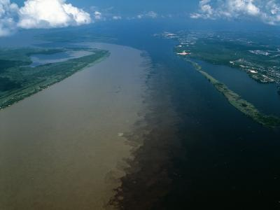 Brazil - Amazonas - Amazon River and Negro River