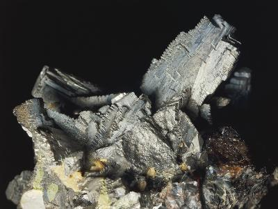 Close-Up of Arsenopyrite