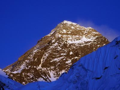 Mount Everest in Evening Light