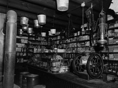 United States - Circa 1900S: Interior of Country General Store, Shiloh, Virginia