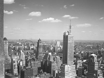 Usa, New York City, Cityscape (B&W)