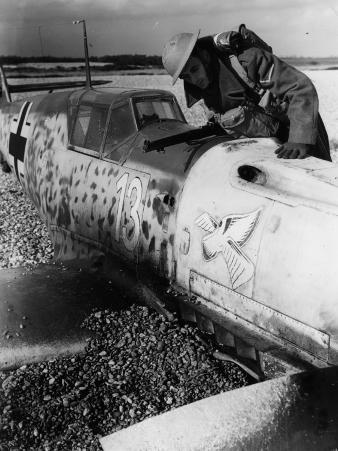 Downed Messerschmitt