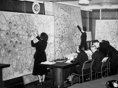 Air Raid Control Room