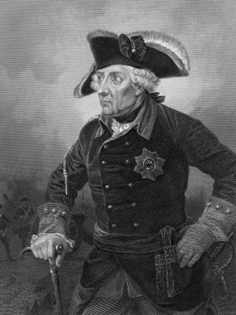 Portrait of King Frederick the Great