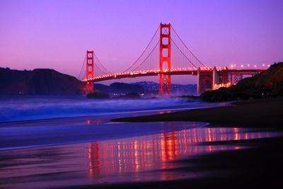 Golden Gate Bridge Dusk