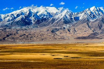 Autumn Prairie on Pamir, Xinjiang China
