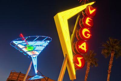 Neon Signs in Fremont Street, Downtown Las Vegas