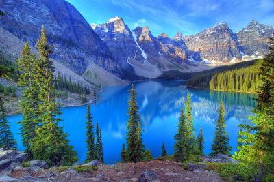 Moraine Lake, Banff, Rocky Mountain, Canada