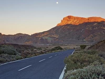 Tf-21 Road Running through Teide National Park