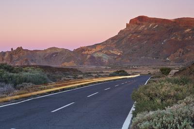 Tf-21 Road Running through Teide National Park