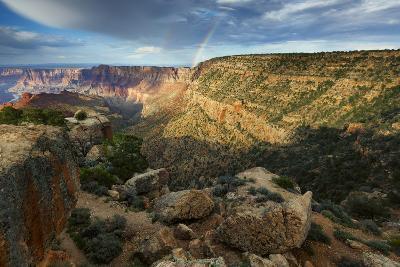 Double Rainbow over Desert View