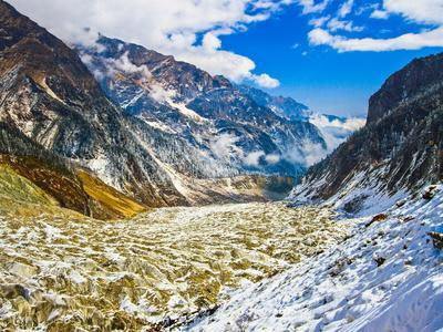 Valley of Glacier, Hailuogou, Sichuan China