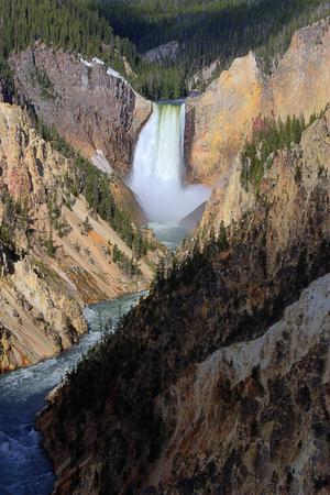 Artist Point Lower Falls (Explored)