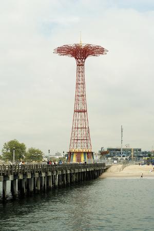 Parachute Jump at Coney Island, New York