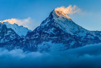 Dawn Light over Annapurna, Nepal