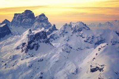 Mount Pelmo at Sunrise, Italian Alps, Dolomites