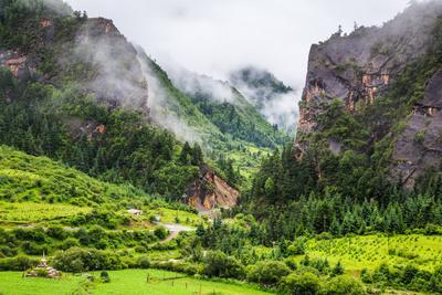 Zhagana Village, Gansu China