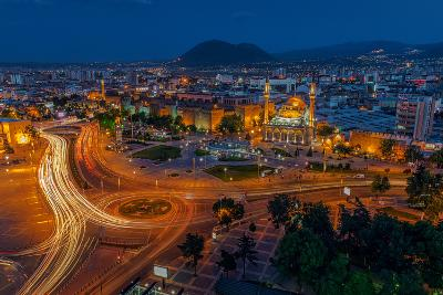 Kayseri City at Night