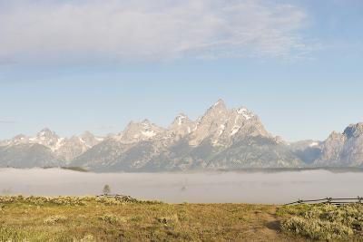 Morning Fog in the Teton Valley