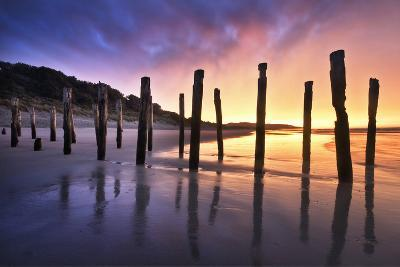 The Old Jetty Remains, St Clair Beach, Dunedin