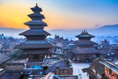 Dawn at Bhaktapur, Nepal