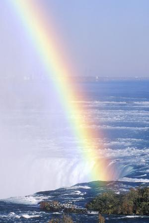 'Rainbow over Niagara Falls, New York'