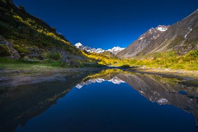 Mt.Cook with Reflection