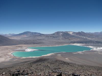 Laguna Verde While Climbing Mulas Muertas
