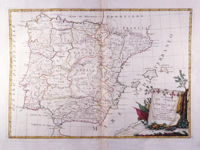 The Kingdom of Spain and Portugal Divided