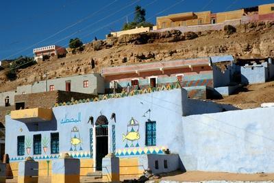 Nubian House; Cataract Nubie Desert, Egypt