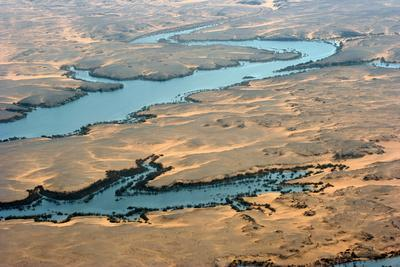 Above Lake Nasser, Egypt.