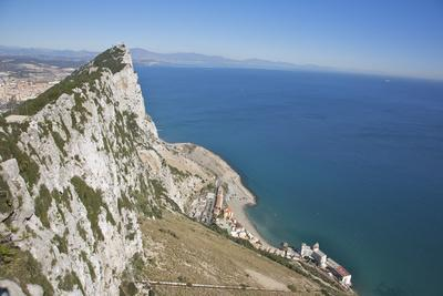 View from Top of the Rock, Gibraltar, U.K.