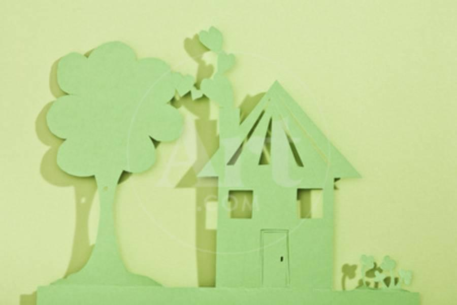 Super Paper Cut Out Of House And Tree Interior Design Ideas Truasarkarijobsexamcom