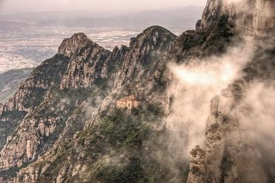 The Chapel on Top of the Sacred Cave in Monserrat