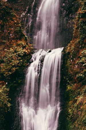 The Mouth of Multnomah, Waterfall Columbia River Gorge, Oregon