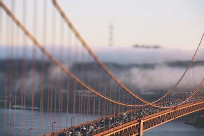 Crossing the Golden Gate - Tilt Shift, San Francisco