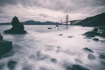 Water Movement at Marshall Beach - Golden Gate Bridge, San Francisco