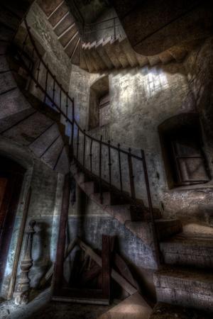 Haunted Interior Stairway
