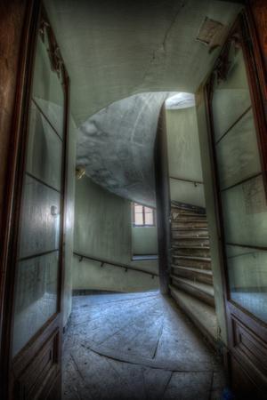Haunted Interior Stariway